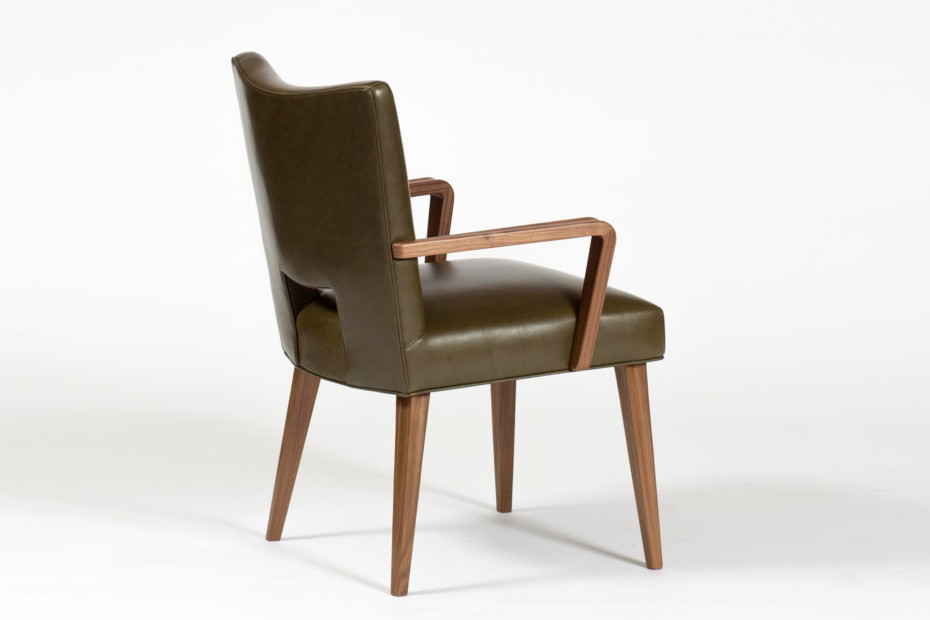 Schwadron Dining Chair with armrests