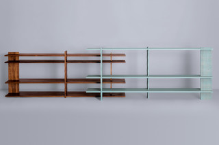 3° shelf small  by  Zeitraum