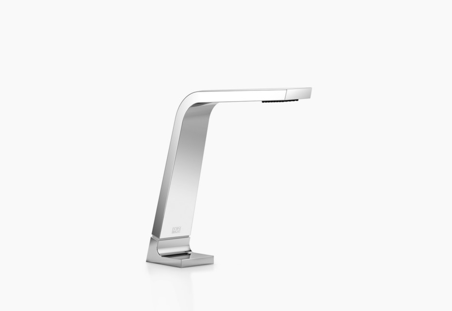 CL.1 Deck-mounted basin spout without pop-up waste, 160 mm projection