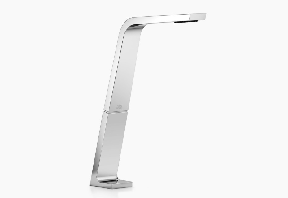 CL.1 Deck-mounted basin spout without pop-up waste, 200 mm projection