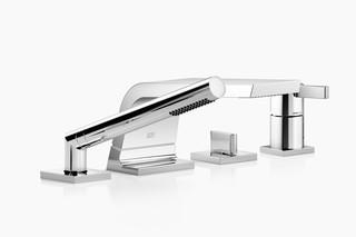 CL.1 Deck-mounted bath mixer with hand shower set  by  Dornbracht