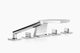 CL.1 Deck-mounted bath set with hand shower set  by  Dornbracht