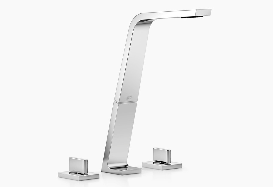 CL.1 Three-hole basin mixer, 200 mm projection