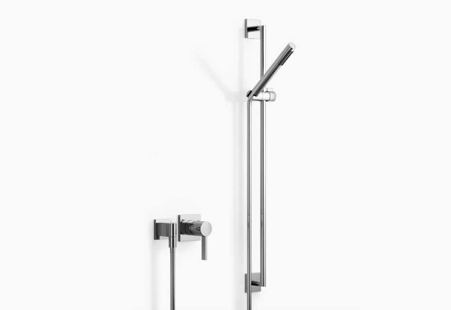 CL.1 Wall-mounted single-lever shower mixer with shower set