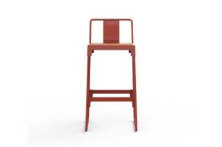 MINGX outdoor high stool  by  Driade