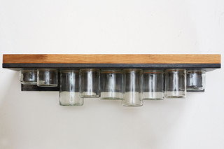 Pia kitchen shelf  by  dua