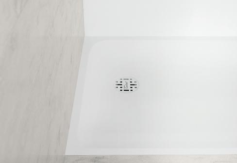 corian smart duschwannen von dupont corian stylepark. Black Bedroom Furniture Sets. Home Design Ideas