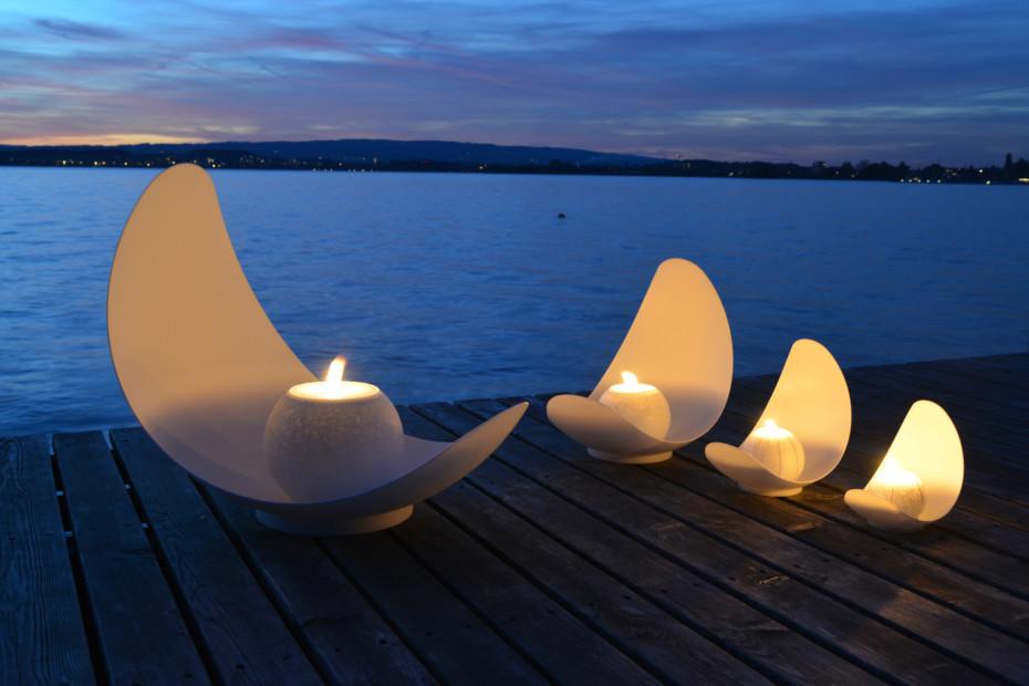 DuPont™ Corian® candle bowl Lluna