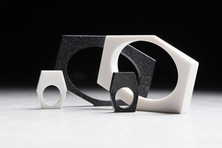 DuPont™ Corian® jewellery from 13&9  by  DuPont™ Corian®