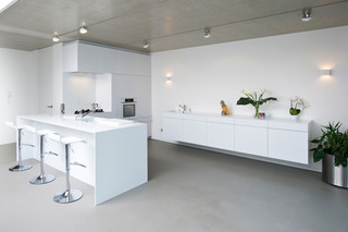 DuPont™ Corian® kitchen Moser 2  by  DuPont™ Corian®
