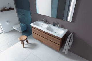 Durastyle double washbasin vanity unit  by  Duravit