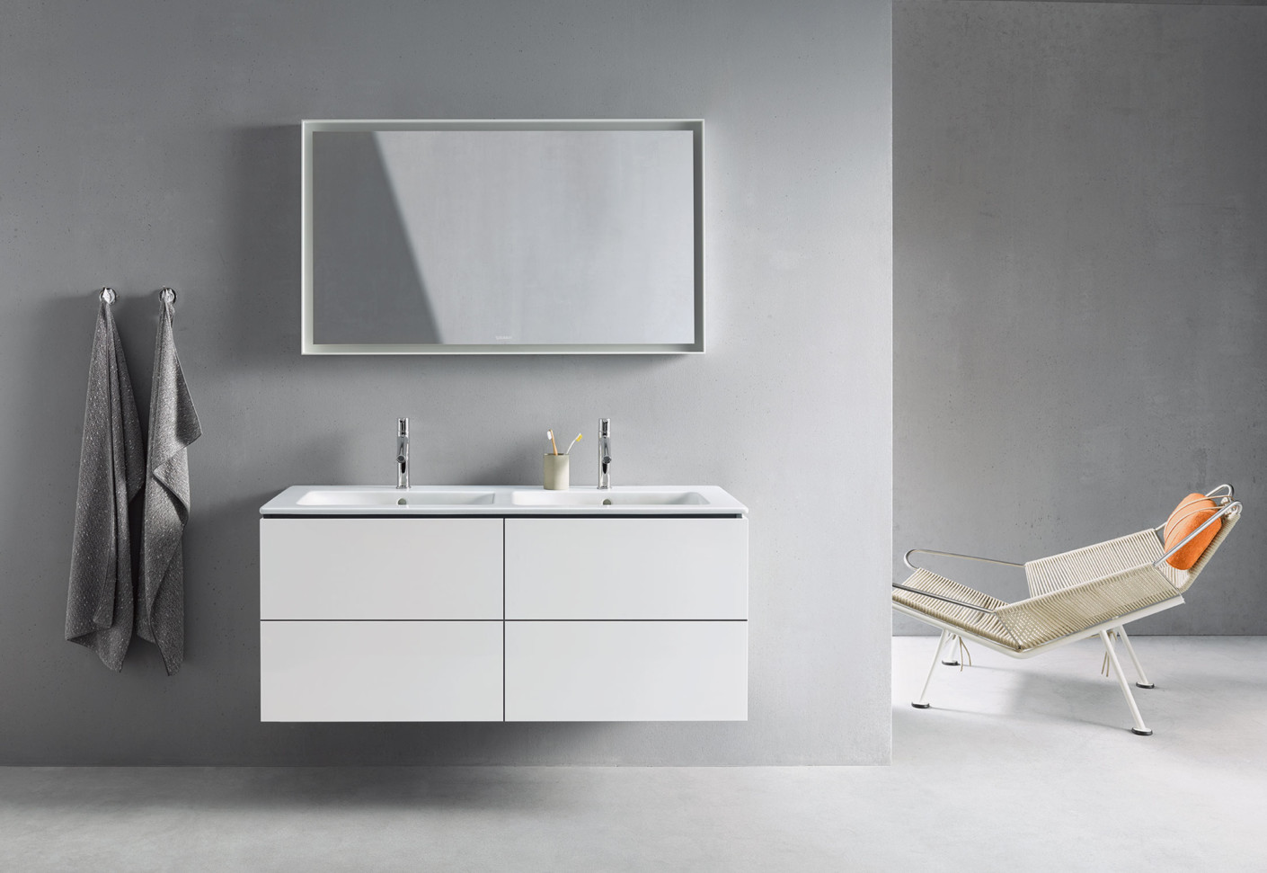 Me By Starck Double Washbasin By Duravit Stylepark