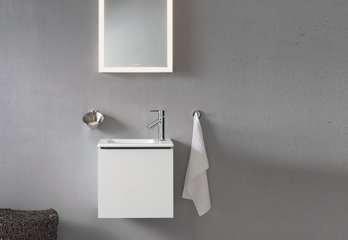 me by starck washbasin by duravit stylepark. Black Bedroom Furniture Sets. Home Design Ideas