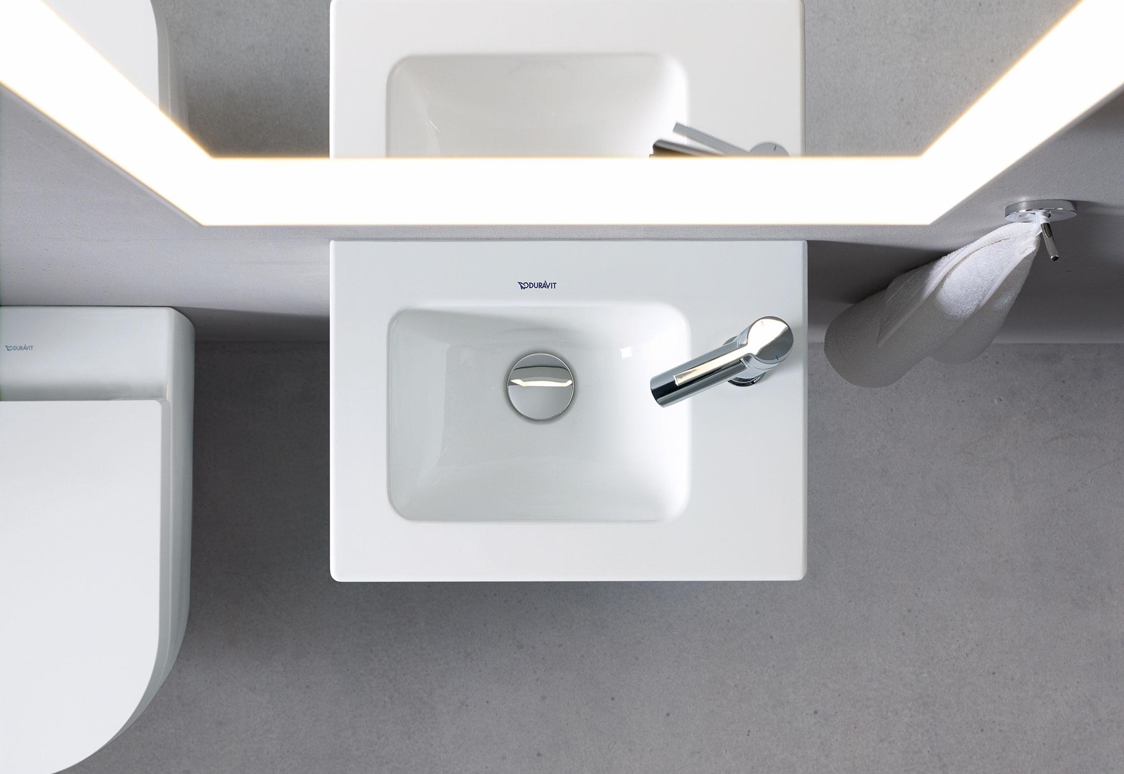 me by starck waschtisch von duravit stylepark. Black Bedroom Furniture Sets. Home Design Ideas