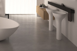 Drop freestanding washbasin  by  agape