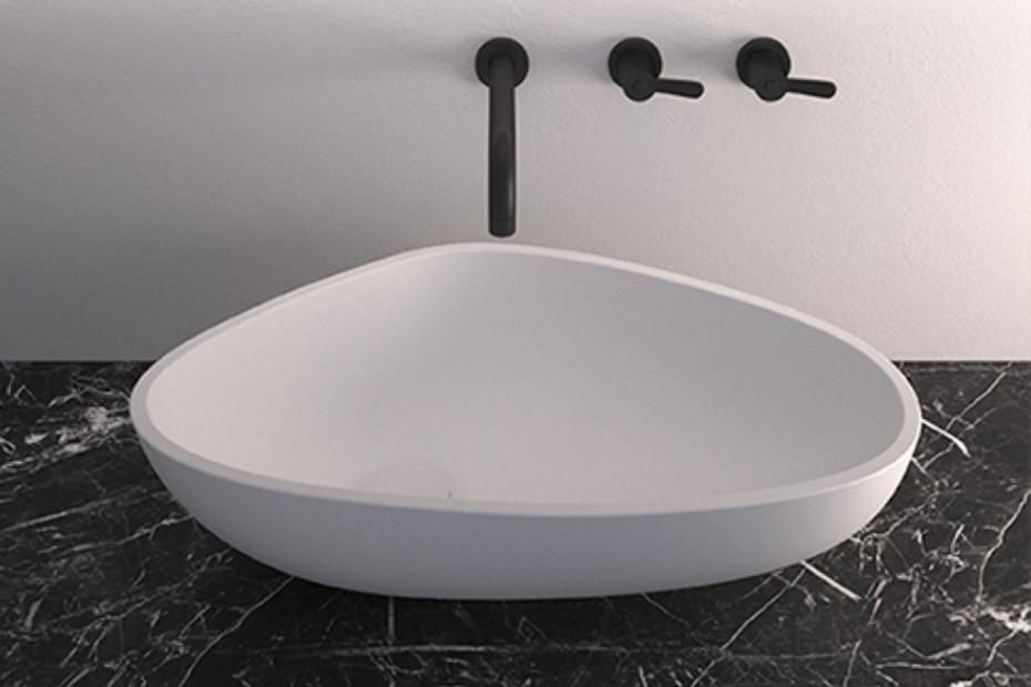 Drop washbasin