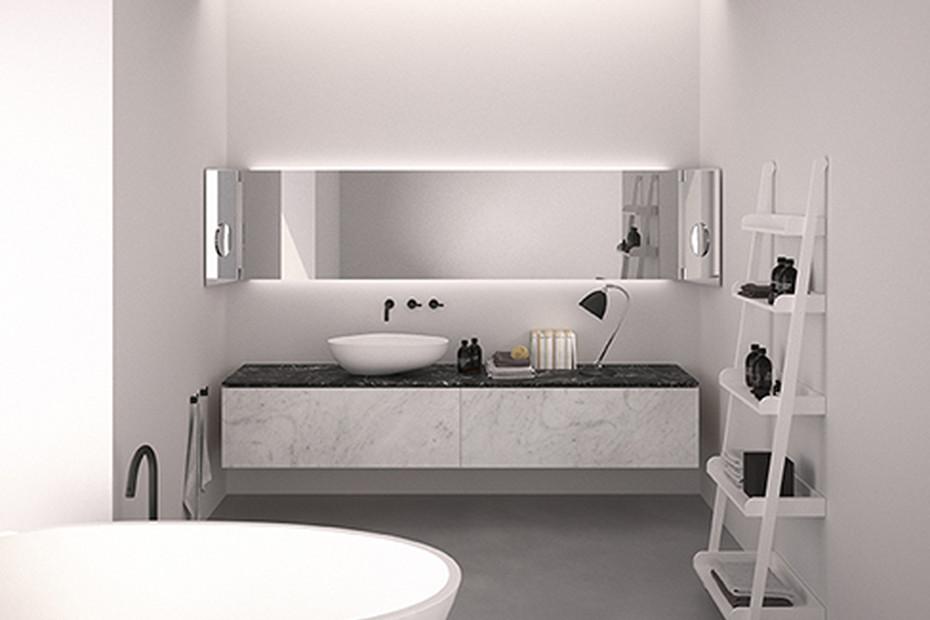 Drop washbasin