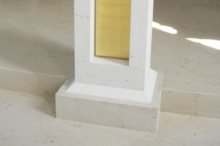 Jura limestone yellow sandblasted   by  Altmühltaler Kalksteine