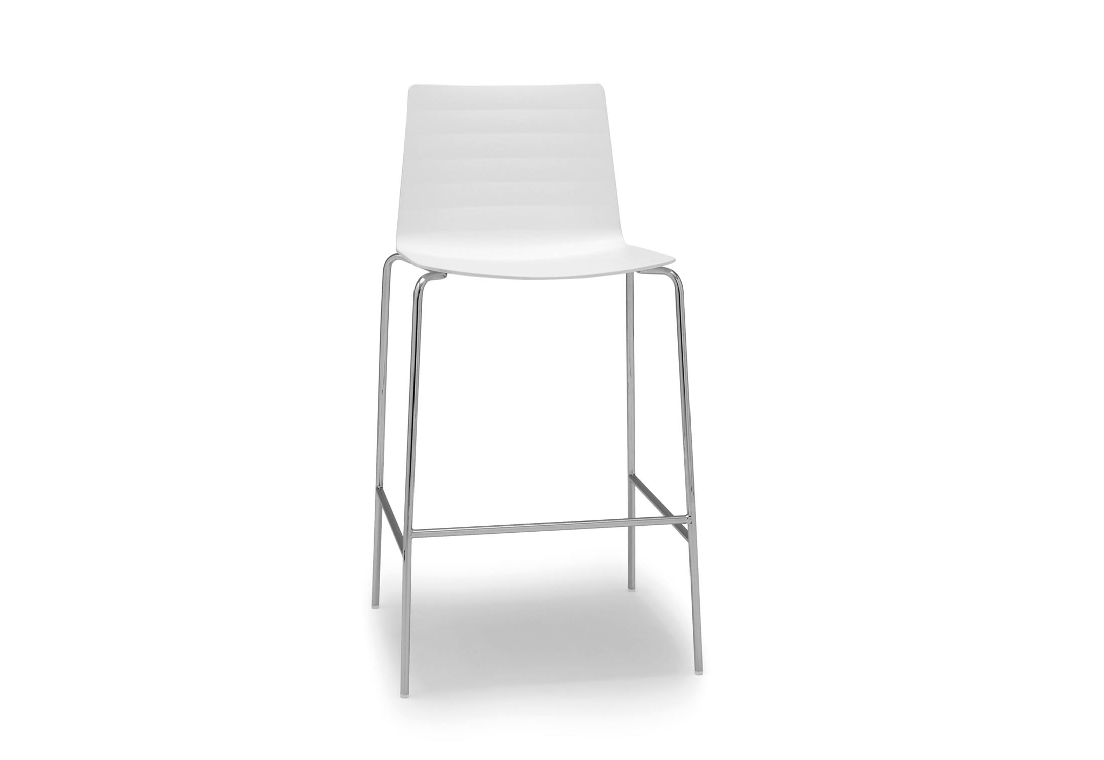 Flex Stool With Sled Base By Andreu World Stylepark