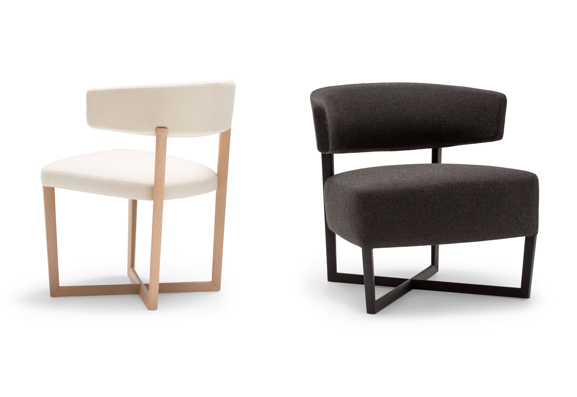 Tauro Wood Lounge Chair By Andreu World Stylepark
