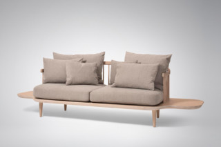 Fly sofa with side tables  by  &Tradition