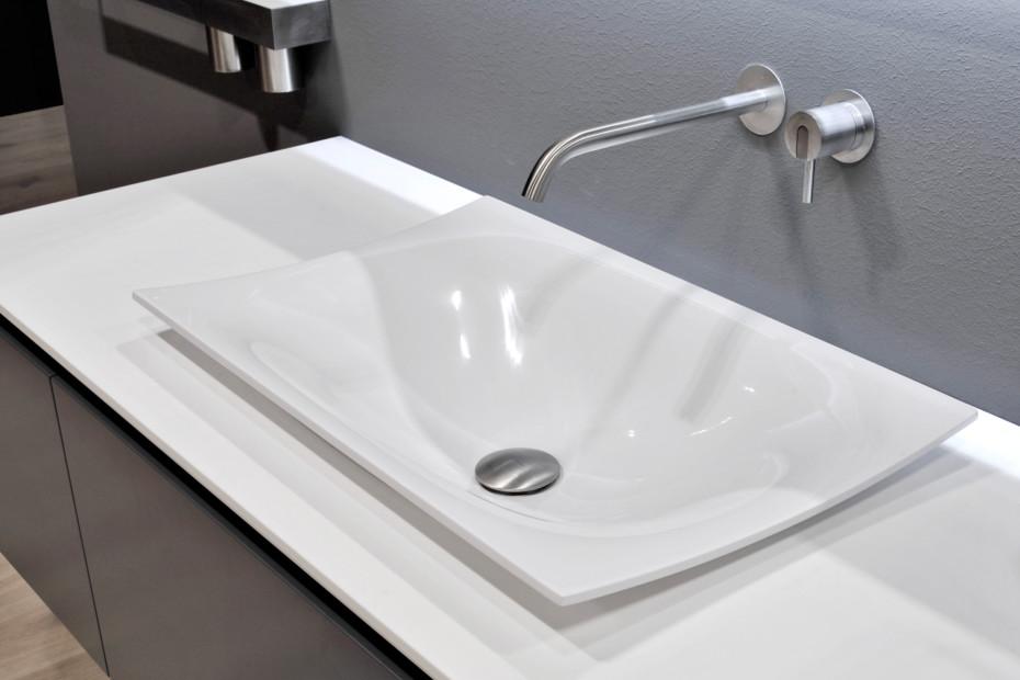 Ayati faucet on wall