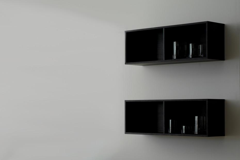 Materia shelf