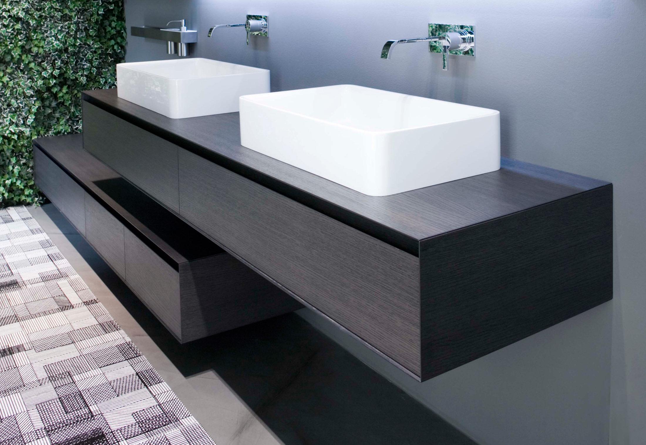 Waschbecken rechteckig mit unterschrank  Panta Rei Unterschrank von Antonio Lupi | STYLEPARK