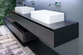 Panta Rei Waschbecken rechteckig  von  Antonio Lupi