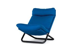 Cross armchair with high backrest  by  arflex