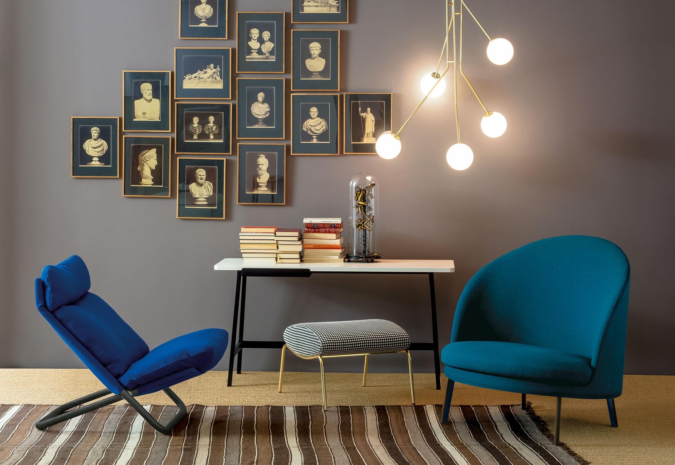 cross sessel mit hoher lehne von arflex stylepark. Black Bedroom Furniture Sets. Home Design Ideas