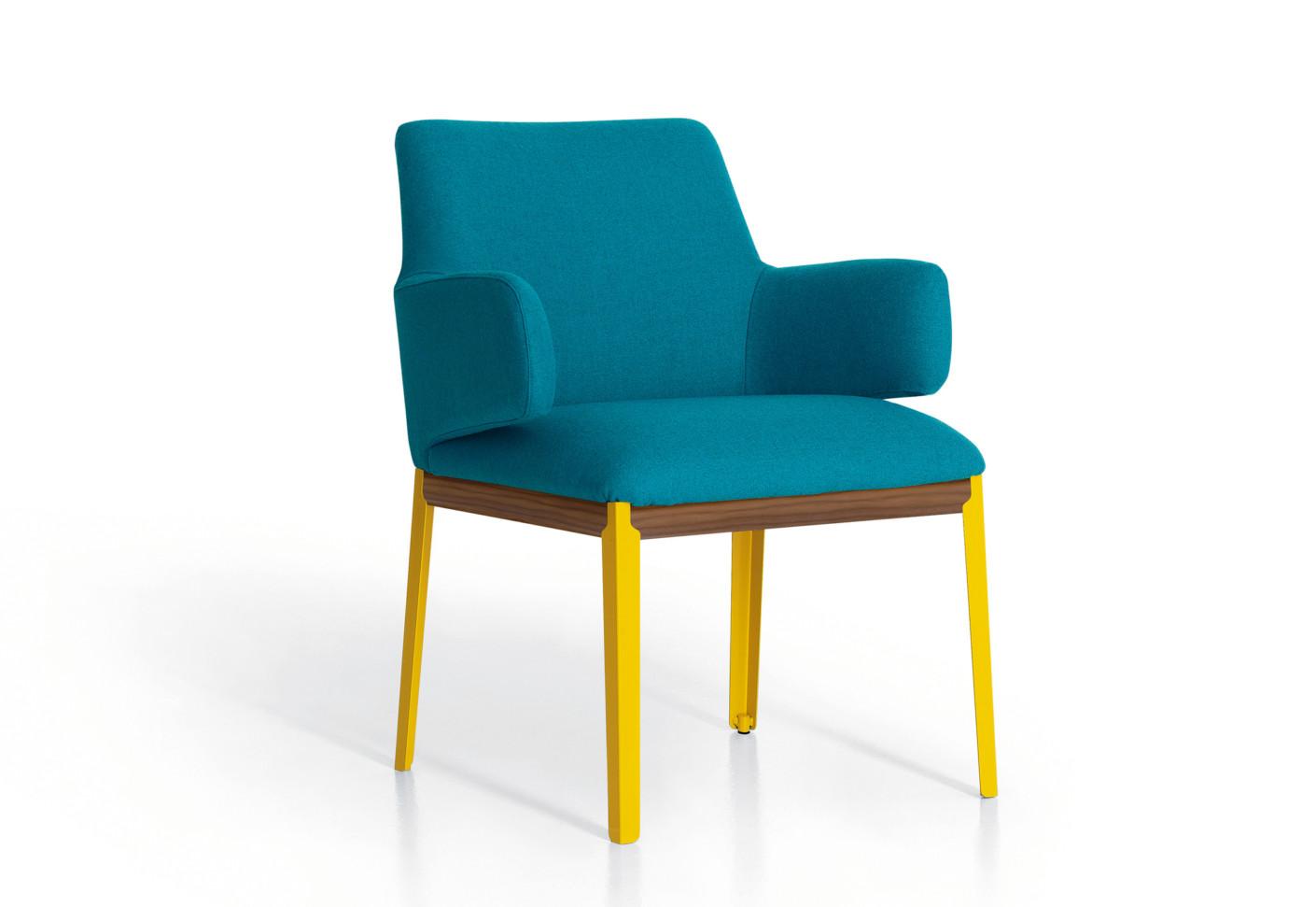hug small side chair by arflex stylepark