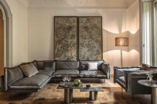 Auto Reverse corner couch  by  Arketipo