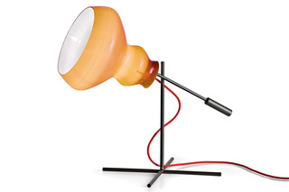 Blob table lamp  by  Arketipo