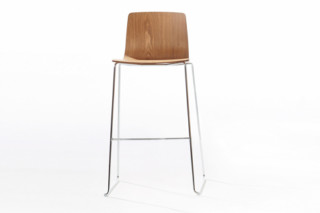 Aava - Bar stool  by  Arper