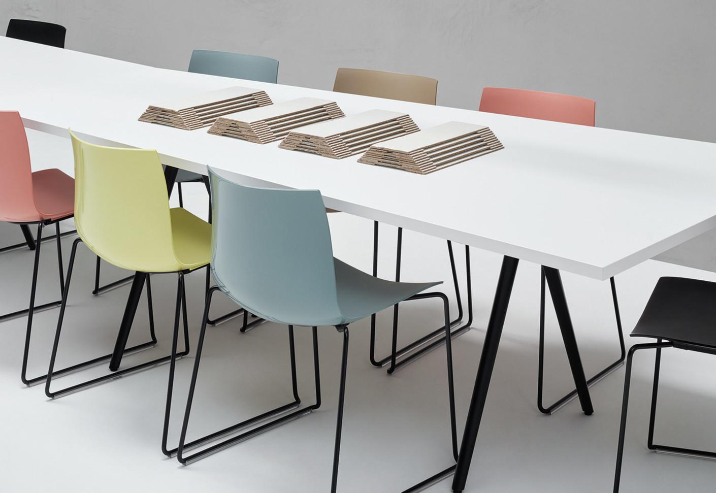 catifa 46 bicolor by arper stylepark. Black Bedroom Furniture Sets. Home Design Ideas