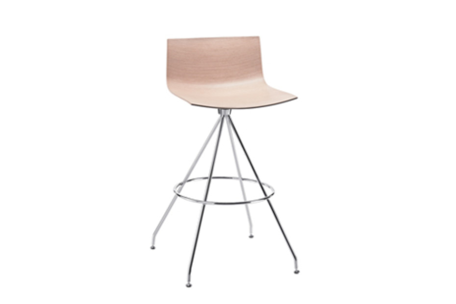 Catifa 46 - Trestle bar stool