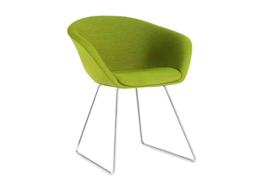 Superb Duna 02 Sled By Arper Stylepark Machost Co Dining Chair Design Ideas Machostcouk