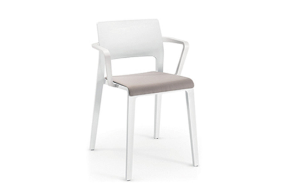 Juno - Open backrest with seat pad