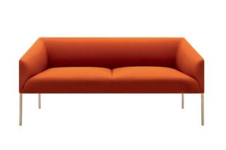 Saari - Sofa 2 seats  by  Arper