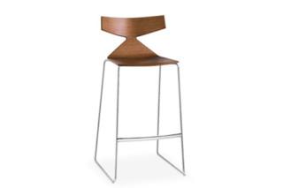 Saya - Bar stool  by  Arper