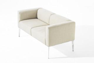 Sean - Sofa 2 Sitze  von  Arper