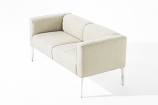 Sean - Sofa 2 seats  by  Arper