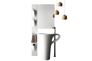 Sotto Sopra washbasin handle  by  Art Ceram