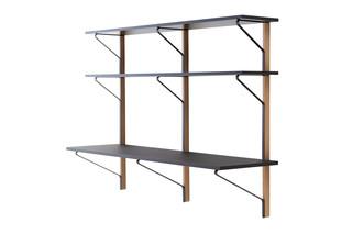 Kaari shelf with desk  by  Artek