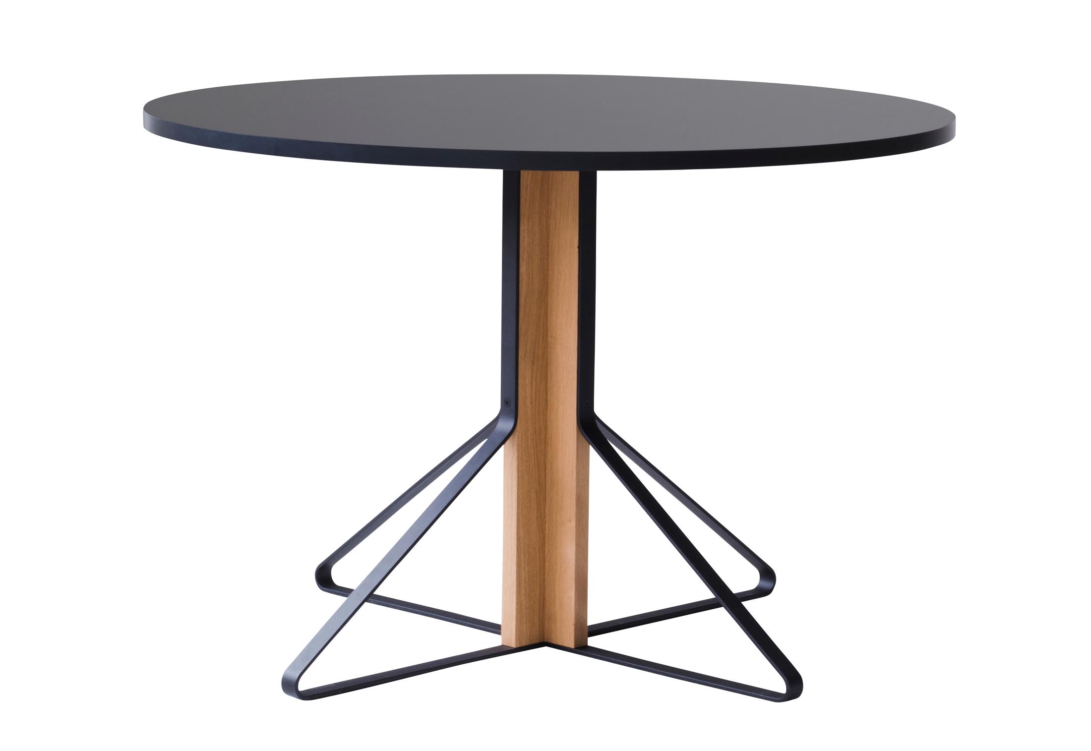 kaari tisch rund von artek stylepark. Black Bedroom Furniture Sets. Home Design Ideas