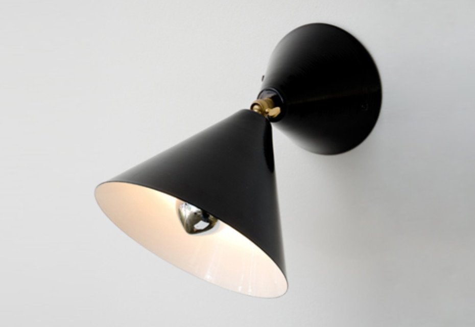 Cone Wall and Ceiling Lamp