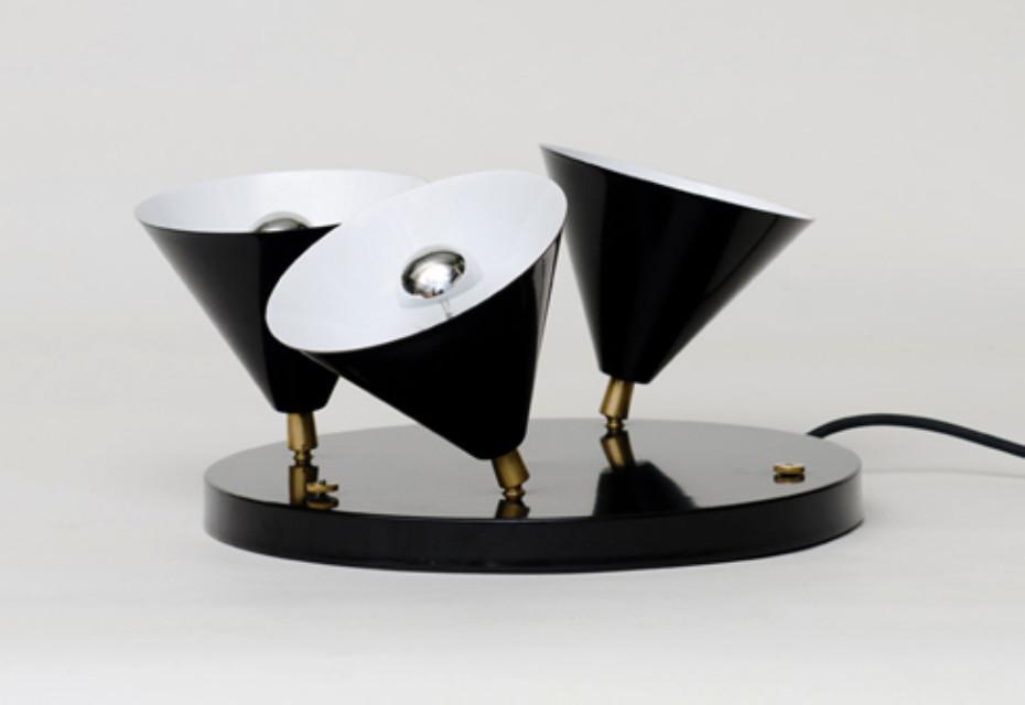 Three Cones floor lamp