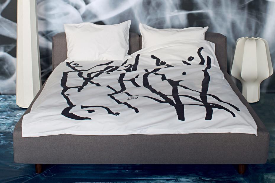 La Côte-Aux-Fées bedclothes