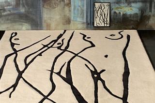 La Côte-Aux-Fées rug  by  Atelier Pfister